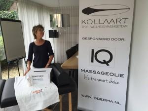 1 uur ·  Vandaag staat het Kollaart massageteam bij de Haarlems Dagblad-Lifefit grachtenloop. Carla Den Braber van FiHt staat paraat. Met SportSupport Kennemerland / STK. Gesponsord door www.iqmassage.nl